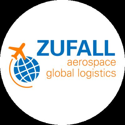 Logo von ZUFALL aerospace global logistics